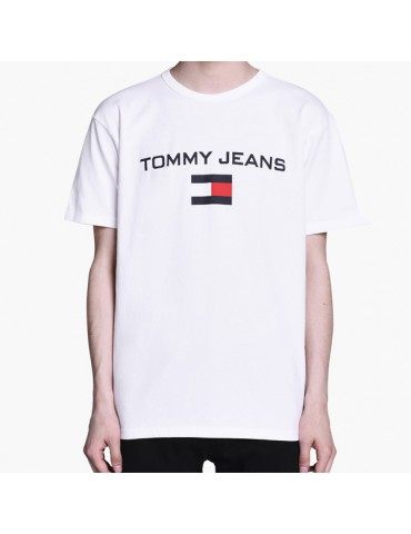 T-Shirt TOMMY JEANS Blanc